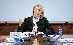 И. Гехт приняла участие вработе круглого стола, посвященного вопросам качества молочной продукции