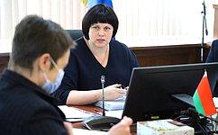 Е. Афанасьева провела заседание Комиссии Парламентского Собрания посоциальной имолодежной политике, науке, культуре игуманитарным вопросам