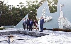 Делегация Совета Федерации посетила Кубу срабочим визитом