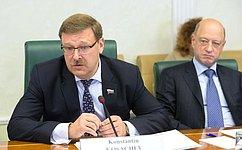 К.Косачев: Парламентарии России иВенгрии стремятся сохранять ипродолжать диалог