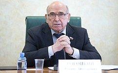 Комитет СФ поэкономической политике организовал «круглый стол» посовершенствования тарифов наэлектроэнергию