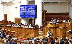 В. Матвиенко выступила заформирование эффективной международной правовой базы для противодействия терроризму иэкстремизму