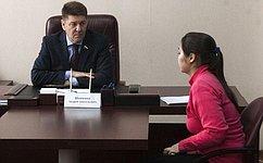 А.Шевченко провел прием граждан поличным вопросам вОренбурге