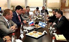 Парламентарии России иИзраиля договорились вместе вырабатывать ипродвигать единые для международного права определения терроризма