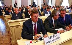 А. Шевченко: Наши тесные связи сРеспубликой Беларусь базируются напринципах добрососедства ивзаимной поддержки