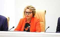 В.Матвиенко: Парламентариям необходимо обеспечить качественное законодательное наполнение вступивших всилу поправок Конституции