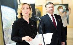 ВСовете Федерации открылась выставка «Время первых», приуроченная к60-летию первого полета человека вкосмос