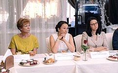 И. Петина: Поддержка женщины– приоритет социально ориентированного государства