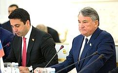 Ю.Воробьев: Российско-армянские межпарламентские контакты были иостаются интенсивными