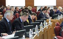 Н. Савельев: Амурские депутаты приняли областной бюджет на2015год впервом чтении
