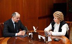 Председатель СФ иГлава Карачаево-Черкесии обсудили вопросы социально-экономического развития региона