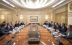В. Матвиенко: ВСовете Федерации ценят стремление Австрии развивать взаимовыгодные отношения сРоссией