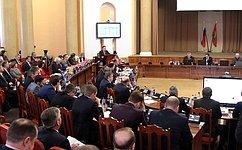 И.Тихонова приняла участие вработе сессии областного Совета депутатов