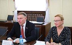Л.Косткина иА.Варфоломеев встретились сдепутатами Народного Хурала Бурятии