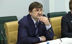В. Лебедев: Парламентский контроль заподготовкой правовых актов повысит эффективность реализации стратегических направлений развития лесного комплекса