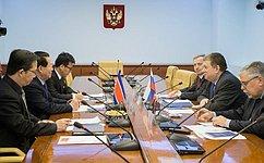 Е. Бушмин: Проведение перекрестного Года дружбы России иКНДР– чрезвычайно важное событие