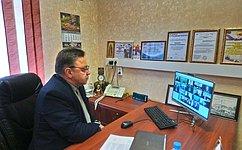В. Тимченко отчитался перед депутатами Законодательного собрания Кировской области освоей работе вСовете Федерации