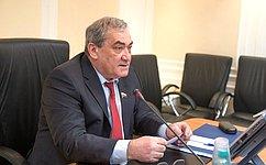 В.Штыров провел заседание президиума Совета поАрктике иАнтарктике при Совете Федерации