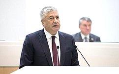 В.Колокольцев рассказал сенаторам омерах Правительства России попротиводействию нелегальной миграции