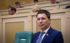 Профильный Комитет СФ провел анализ формирования цен нарыбную продукцию— И.Зубарев