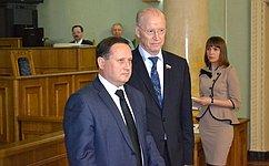 Н. Петрушкин принял участие вработе пятой сессии Государственного Собрания Республики Мордовия