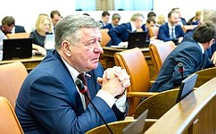 В.Семенов принял участие вработе сессии Законодательного Собрания Красноярского края