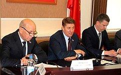 А. Шевченко обсудил спредставителями молодежного парламента Оренбургской области вопросы совершенствования законодательства