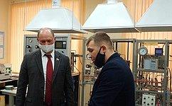 В.Лакунин: Вдонских вузах активно развивается система инжиниринговых центров