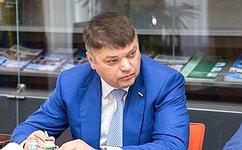 Д. Василенко принял участие вторжественном открытии Недели науки ипрофессионального образования вСанкт-Петербурге