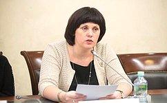 Е.Афанасьева представила Совет Федерации наМолодежном форуме ЭКОСОС вНью-Йорке