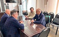 О. Цепкин: Магнитогорский вуз иФинансовый университет при Правительстве РФ будут сотрудничать всоздании образовательных программ