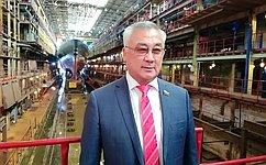 Б. Жамсуев: Амурские судостроители готовы успешно выполнять задачи, стоящие перед оборонно-промышленным комплексом