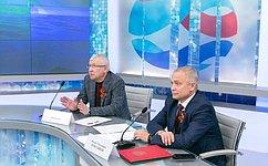 И. Ахметзянов иО. Морозов поздравили студентов изТатарстана, победивших вконкурсе коДню российского парламентаризма