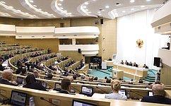 Сенаторы отчитались омониторинге реализации мероприятий индивидуальной программы социально-экономического развития ряда регионов