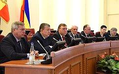 Е. Бушмин: Бюджет Ростовской области на2018год имеет социальную направленность