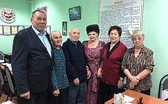 В. Петренко: Организации Ветеранов Хакасии поддержали проект «Подвиг Матери»