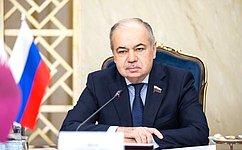 И.Умаханов: Торгово-экономические связи России иКатара активно развиваются