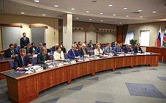 Официальный визит делегации Совета Федерации воглаве сПредседателем СФ В.Матвиенко вНамибию