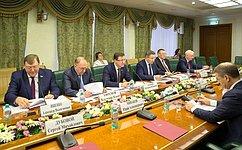 Заседание Комиссии Совета законодателей РФ поделам Федерации, региональной политике иместному самоуправлению прошло вСФ