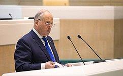 Сенаторы заслушали выступление Президента Национальной курортной ассоциации А.Разумова натему «Здоровье здорового человека»