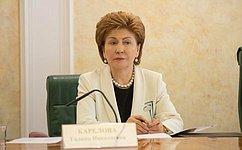 Механизмы государственно-частного партнерства всоциальной сфере могут использоваться активнее– Г.Карелова