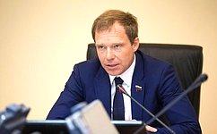 А. Кутепов: Допервого декабря 2018года вСФ будет разработан новый законопроект поурегулированию конфликта интересов