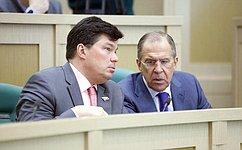 Сенаторы обсудили вопросы, связанные синтеграцией Крыма вэкономику иправовую систему России