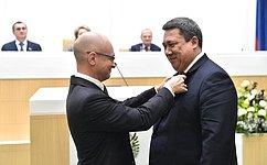 В. Полетаев награжден медалью ордена «Зазаслуги перед Отечеством» II степени