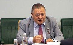 С. Калашников провел встречу сВременным поверенным вделах Исламской Республики Афганистан вРФ Мохтаатом Хомаюном