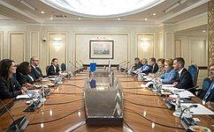 В. Матвиенко: Атмосфера спортивного футбольного праздника вРоссии исключает вражду иагрессию