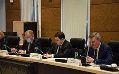 С. Горняков принял участие вобсуждении перспектив развития строительной отрасли вВолгоградской области
