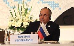 И. Умаханов выступил натретьем Совещании спикеров парламентов стран Евразии вАнтальe