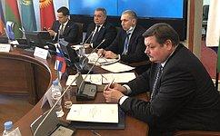 Сенаторы РФ приняли участие взаседаниях постоянных комиссий ПА ОДКБ