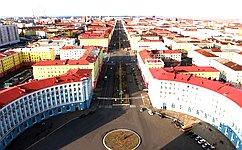 Делегация Совета Федерации посетила Норильск ипровела мониторинг хода работ поликвидации последствий чрезвычайной ситуации